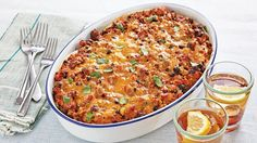 Beef, Progresso™ black beans and Old El Paso™ salsa come together in this cheesy lasagna - a scrumptious Tex-Mex dinner. Make ahead and freeze!
