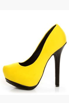 Great pair of shoes to add a pop of color to your outfit.