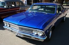 66 Chevy Chevelle, aka the Sherman Tank, took a beating and kept on going.