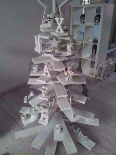 Houten kerstboom Wood Christmas Tree, Xmas, Jenga, Beautiful, Christmas Wood, Creative, Christmas, Navidad, Noel