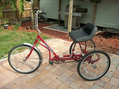 regal adult tricycle | EZ Roll Regal Three Wheel Bicycle 3 Adult | eBay