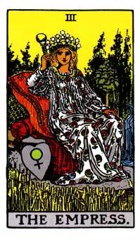 The Empress Tarot card is one of the 22 Major Arcana Tarot cards. Here you'll find the Empress Tarot Card Meaning when it shows up in a Tarot Reading. Major Arcana Cards, Tarot Major Arcana, Tarot Card Spreads, Tarot Cards, Tarot Rider Waite, Tarot Significado, Tarot Gratis, Online Tarot, Free Tarot