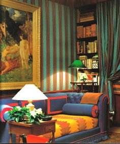 """castiglione"" on the walls of Gilles Dufour's apartment 