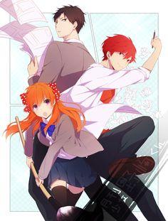 Gekkan Shoujo Nozaki-kun #anime #animegirl