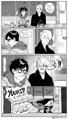 """rlorbiter: """"In which they're already married and Viktor is totally over the moon for pet names """""""