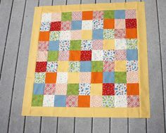 Originally posted atMake and Takes. Today we are going to talk about sewing borders onto a quilt. It's important to have borders that help keep your quilt square – otherwise your pieced top will be more difficult to 'quilt' and it will not lie flat – instead it will have little ripples in the edges …