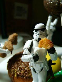 Stormtrooper donut break