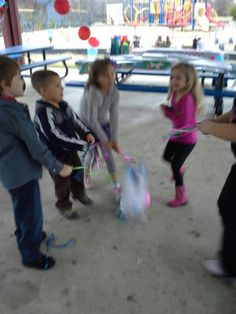 Pic from Farm theme b-day party cow pinata
