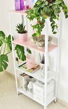 DIY Half Pink Shelf | Enthralling Gumption