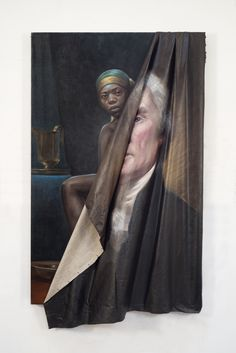 """neg-mawon: """" aadatart: """" MUST-READ: Titus Kaphar Talks Criminal Justice, His TIME Painting, and First Show at Jack Shainman Titus Kaphar is having a big year. The artist, who splits his time between. African American Art, American Artists, Modern Art, Contemporary Art, Creation Art, Time Painting, Photocollage, National Portrait Gallery, Black Artists"""