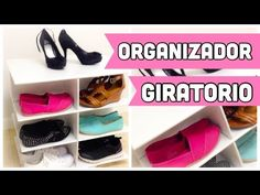 ROTATING shoe organizer made out of cardboard Hello :) In today´s video I want to show how to make a shoe organizer,but with a little twist. This is a Rotati. Cardboard Organizer, Shoe Organizer, Desk Organization, Rotary, Shower Installation, Shower Units, Cardboard Crafts, How To Make Shoes, Thinking Outside The Box
