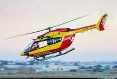 French Securite Civile Eurocopter EC-145