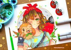 +Pokemon - New Adventure Begins+ by larienne from deviant art