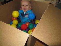 IMG 3435 300x225 Sensory Activity   Infant Ball Pit