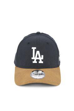 New Era Dodgers High Crown 3930 Navy/tan Suede