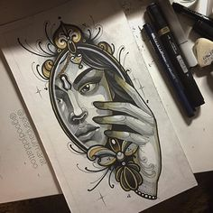Our goal is to keep old friends, ex-classmates, neighbors and colleagues in touch. Cup Tattoo, Neo Trad Tattoo, T Magazine, Mirror Art, Neo Traditional Tattoo, Skin Art, Old Friends, Tatting, Album