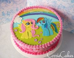An awesome My Little Pony cake by Corrie Cakes