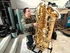 Subcontrabass Saxophone...in case you're craving a really low note