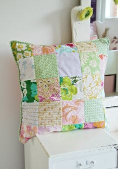 almohadon patchwork