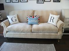 Laura Ashley Large Hertford Upholstered 2 Seater Sofa-collection Barnes London
