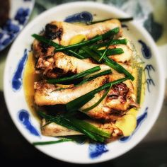 Grandma's Chinese Steamed Brined Chicken 煎焗雞髀 | Chinese Recipes at TheHongKongCookery.com
