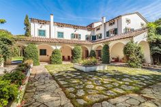 Incomparable property with park and swimming pool Roma Imperiale Forte Dei Marmi, Lucca, Italy – Luxury Home For Sale