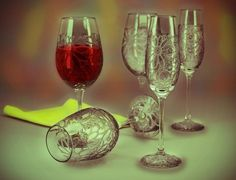 Wine Glasses - Creative Art in 3D Art by Andrew Kumar at Touchtalent