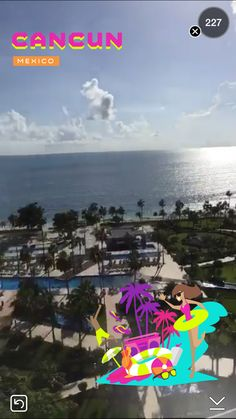 . Snapchat Filters, Cancun Mexico, Digital Art, World, The World, Peace, Earth