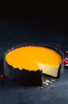 Kelly Jaffa cheesecake ! Looks amazing, but like a couple ingredients would be hard to get outside Australia.