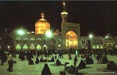 Imam Reza Shrine night, Mashhad, Iran.  #shrine