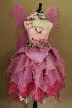 The Rose Faerie  Queene Costume by Fairy Nana, via Flickr