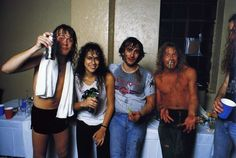 Find images and videos about cute, sexy and Hot on We Heart It - the app to get lost in what you love. Metallica, Heavy Metal, Jason Newsted, Cliff Burton, Great Comebacks, Robert Trujillo, Dave Mustaine, Rocker Outfit, Kirk Hammett