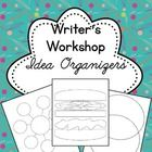 A good writer's workshop provides plenty of room for brainstorming before the writing begins. Includes 15 brainstorming and idea graphic organizers. $