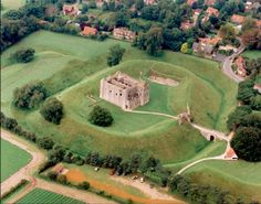 Castle Rising in Kings Lynn, Norfolk, England Oh The Places You'll Go, Places To Travel, Places Ive Been, Norfolk England, Castles In Ireland, English Castles, Summer Travel, Aerial View, Britain