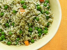 Spiced White Rice One kitchen staple meets another in this flavorful side dish. Grab some rice from the pantry and add some peas and carrots from the freezer and flavor them with cumin, garlic and a secret ingredient: a half cup of beer. Read more at: http://www.foodnetwork.com/healthy/photos/budget-friendly-healthy-dinners.html?ic1=obinsite&oc=linkback