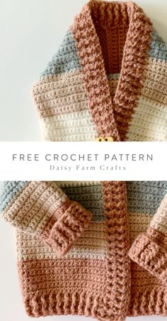 Hottest Screen Crochet for kids boys Popular Free Crochet Pattern – Four Color Baby Sweater Crochet Baby Sweater Pattern, Crochet Baby Sweaters, Baby Sweater Patterns, Crochet Jacket, Baby Patterns, Crochet Clothes, Knit Crochet, Free Baby Crochet Patterns, Sweaters Knitted