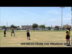 Flag Football Officiating Scenarios Flag Football, Football And Basketball