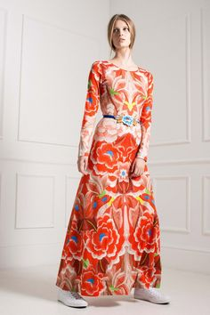 Temperley - Pre - 70's floral embroidery and over sized floral - LOVE