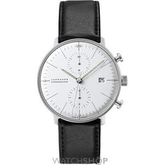 Men's Junghans Max Bill Chronoscope Automatic Chronograph Watch 1,500.00