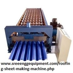 We design and develop Roofing Sheet Gripping Machine that is excellent in performance, and manufactures T-grip plastic sheets that can effectively protect the exposed concrete pipe from corrosion. - See more at: http://www.sreeenggequipment.com/roofing-sheet-making-machine.php