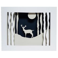 Winter Wonderland, inspiraationa voisi olla Osmo Rauhalan Metsän salaisuus Winter Art Projects, Winter Project, Winter Crafts For Kids, School Art Projects, Art For Kids, 6th Grade Art, Middle School Art, High Art, Recycled Art