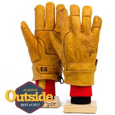 Give'r Gloves   Best Waterproof Leather Gloves   Give'r Jackson Hole