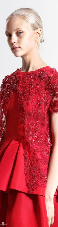 Resort 2017 Reem Acra Reem Acra, Resort 2017, Black White Red, Red Fashion, Shades, Accessories, Outfits, Collection, Color