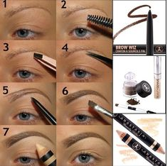 Beauty: How to shape eyebrows with eyebrow kit? Eyebrow Kits, Eyebrow Makeup, Eyeliner, Hair Makeup, Makeup Eyebrows, Eye Brows, Eyebrow Products, All Things Beauty, Beauty Make Up