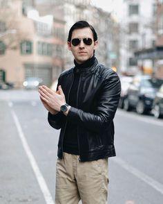 movado bold motion in new york city street style City Streets, New York City, Bomber Jacket, Street Style, Jackets, Fashion, Down Jackets, Moda, New York