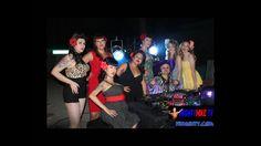 DJ MIGHTY - PIN UP GIRLS LAS VEGAS PARADISE -  DANCE - DWARF SPIN PIMPIN...