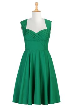 Green Party Dress , Green Bridesmaid Dresses Shop Women's Designer Dresses, Silk Dresses, Black Dresses, Women's Special Occasion Dresses | eShakti.com (bridesmaid dress- maybe in pink??)