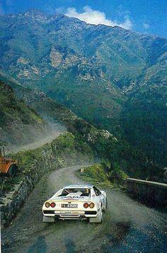 Bjorn Waldegard's Ferrari Rally car.