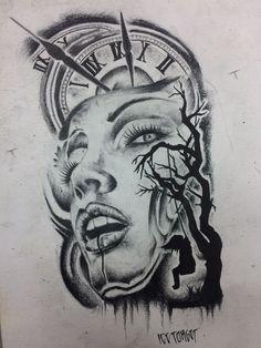 Allllllll Chicano Drawings, Chicano Tattoos, Chicano Art, Tattoo Design Drawings, Tattoo Sketches, Drawing Sketches, Tattoo Designs, Forarm Tattoos, Body Art Tattoos