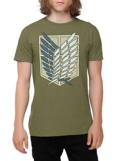 Attack On Titan Shield T-Shirt | Hot Topic